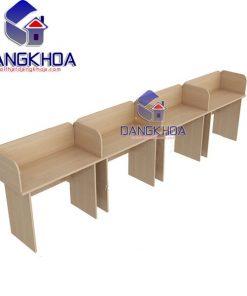 Modul cụm bàn làm việc 4 chỗ - BLVDK17