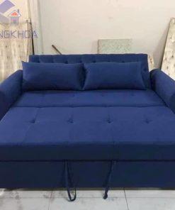 Sofa Giường Đa Năng màu xanh - SFDK36