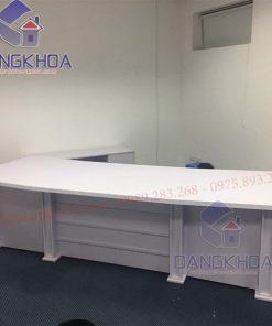Bộ bàn giám đốc cao cấp kèm tủ phụ – BGDDK25