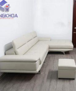Xưởng sản xuất ghế sofa da chữ L – SFDK57